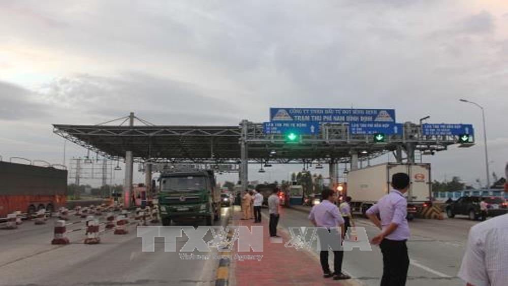 Giảm phí qua Trạm BOT Nam Bình Định
