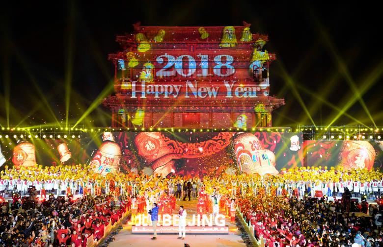 tưng bừng, thế giới, năm mới 2018