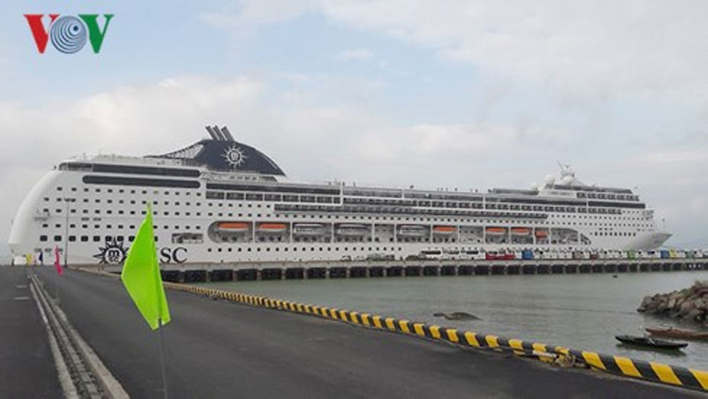 1.800 khách quốc tế đến bằng đường biển xông đất năm mới tại Đà Nẵng