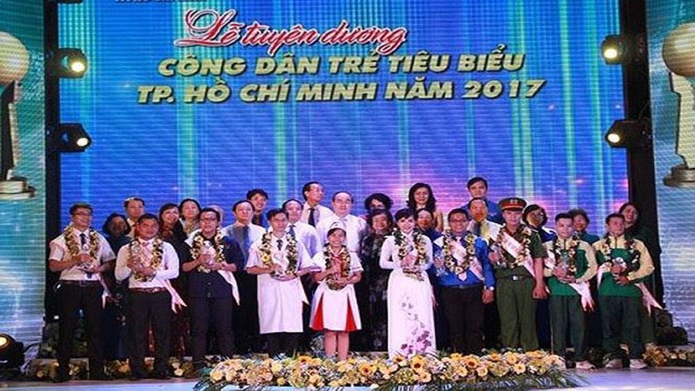 Tuyên dương, 10 Công dân trẻ, tiêu biểu, TP Hồ Chí Minh, năm 2017