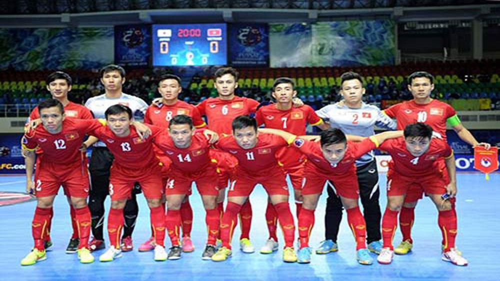 Vietnam, Futsal World Cup, final round, Asian Football Confederation, Futsal Championship, best goalkeeper, four groups
