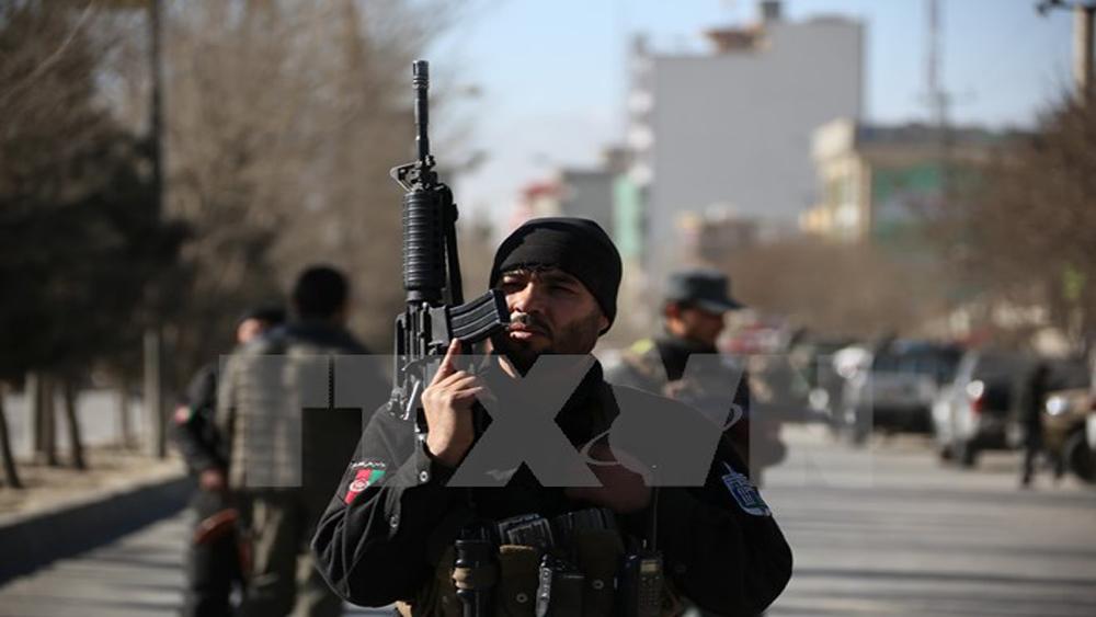 Afghanistan tiêu diệt 26 phiến quân IS bằng máy bay không người lái