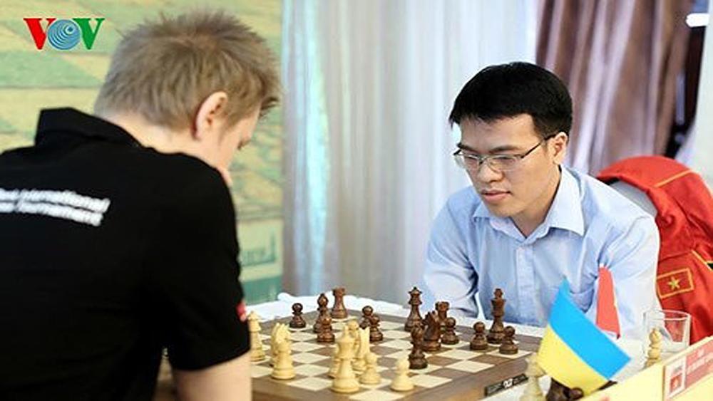 Kỳ thủ Lê Quang Liêm xếp hạng 23 thế giới