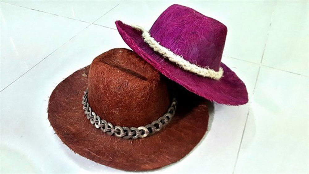 Coconuts make stylish hats