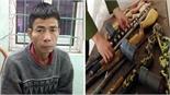 Khởi tố đối tượng bán trái phép ma túy, thu 4 khẩu súng và 4 dao tự chế