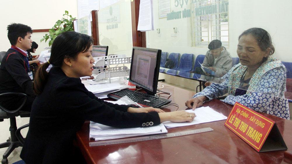 Việt Yên, Chấm điểm chỉ số , cải cách,  hành chính,  cấp huyện,  năm 2017