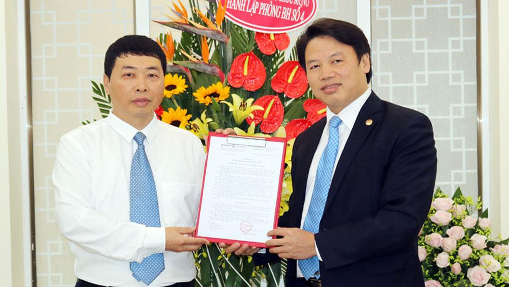 Bảo Việt Bắc Giang mở rộng mạng lưới kinh doanh