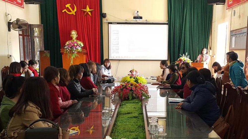Bồi dưỡng chuyên môn cho chủ cơ sở và giáo viên mầm non ngoài công lập
