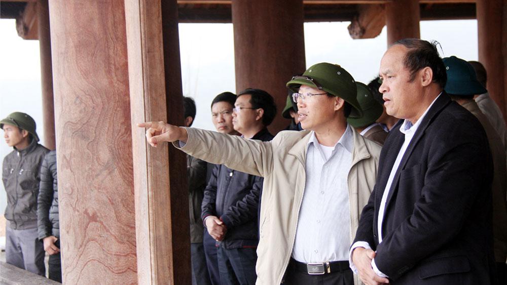 Chủ tịch UBND tỉnh Nguyễn Văn Linh chỉ đạo: Khẩn trương chuẩn bị cho Lễ khai hội Xuân Tây Yên Tử