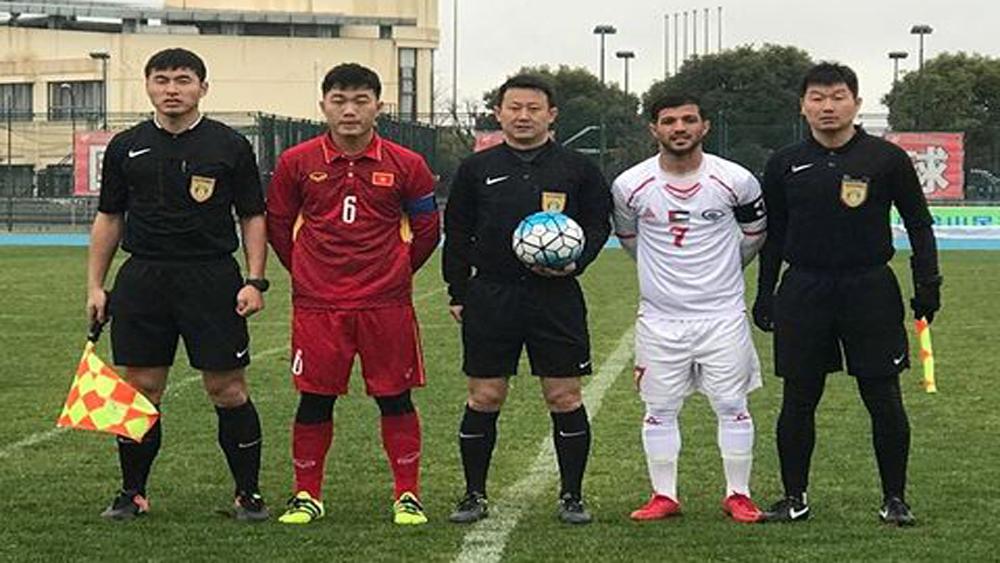 U23 Việt Nam,trận hòa, tinh thần, đụng độ, U23 Hàn Quốc