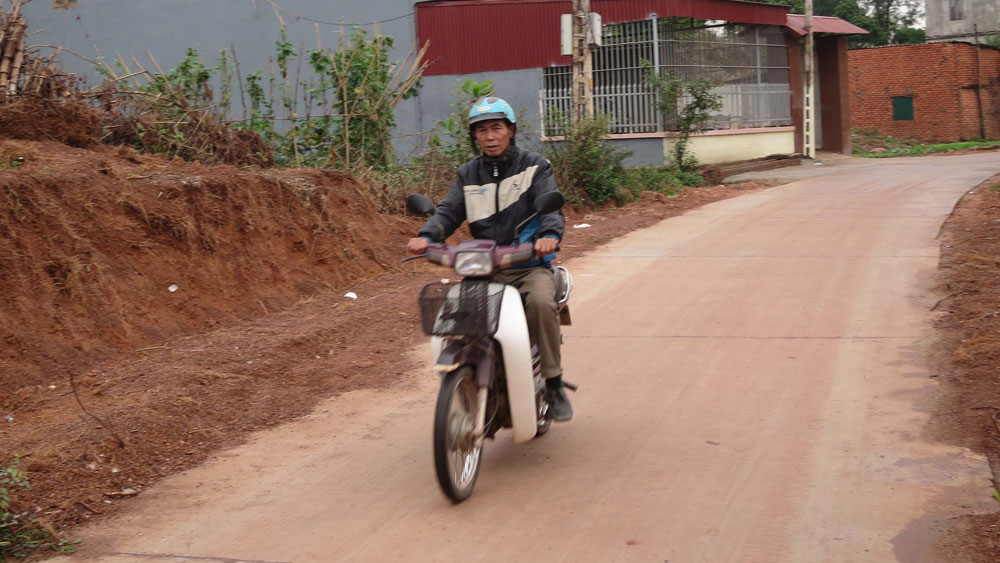 Đông Thịnh khơi dậy sức dân cứng hóa giao thông
