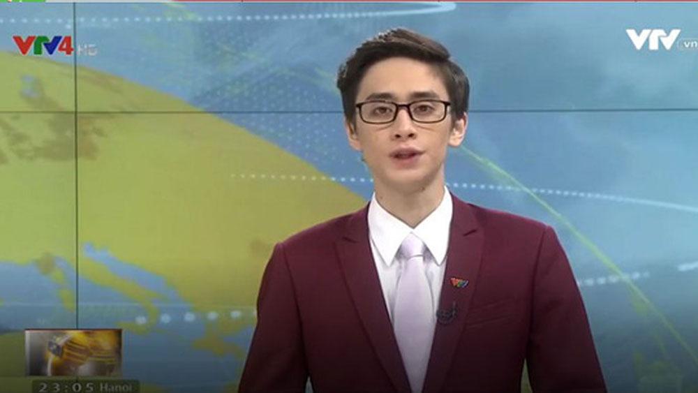 MC ngoại quốc, điển trai, nổi bật, sóng VTV