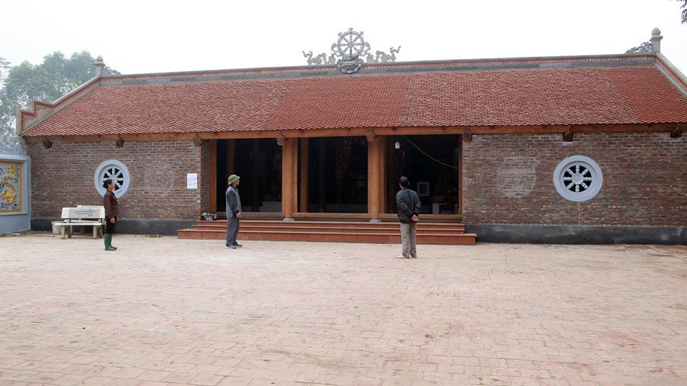 Ngôi chùa cổ bên dòng Thương