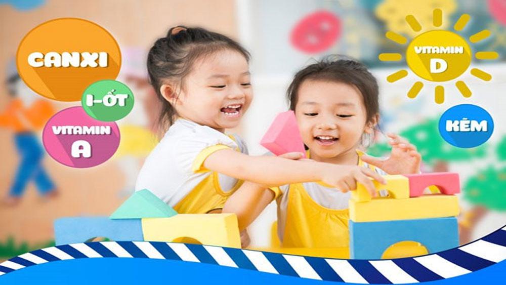 Trẻ thiếu vi chất có thể dẫn đến biếng ăn, còi xương