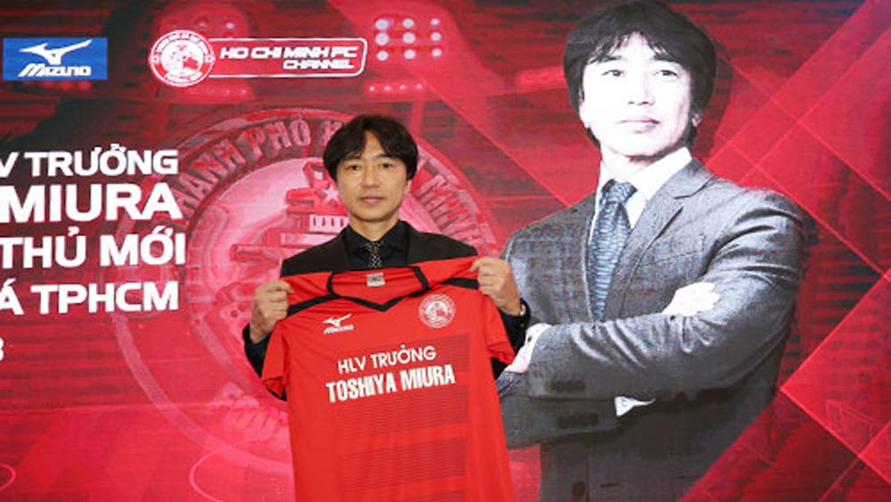 HLV Toshiya Miura đặt mục tiêu cùng CLB TP HCM vô địch V-League