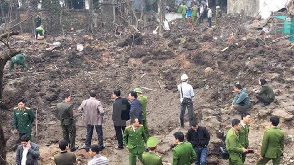 Vụ nổ ở Bắc Ninh: Thành lập các chốt trực 24/24 giờ tại xã Văn Môn