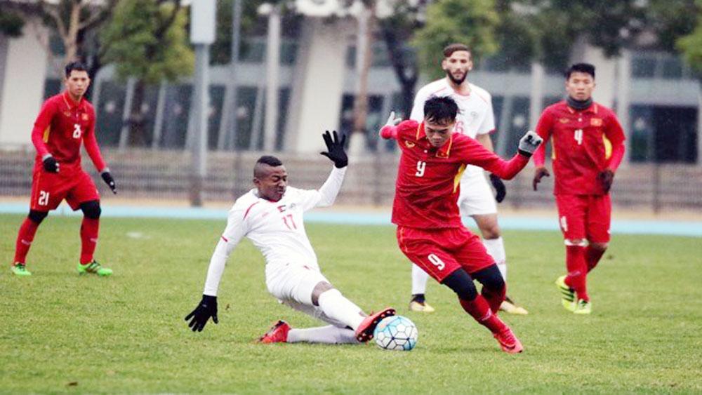 Vietnam tie with Palestine in friendly match