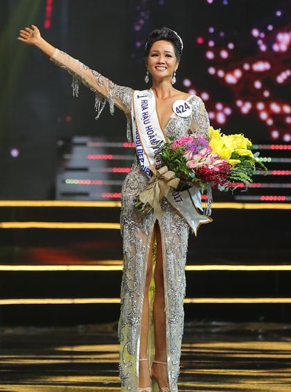 Người đẹp, Ê đê, đăng quang, Hoa hậu Hoàn vũ Việt Nam, 2017