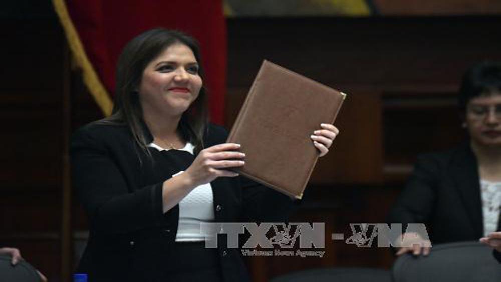 Ecuador, bà Maria Vicuna, chính thức, bầu, Phó Tổng thống