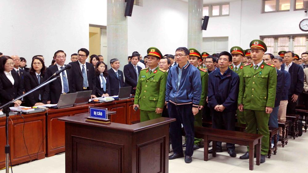 Sáng nay bắt đầu phiên xét xử Trịnh Xuân Thanh và đồng phạm