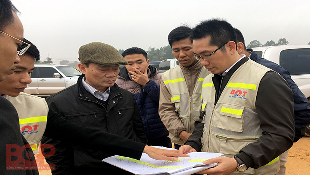 Hastening site clearance for Bac Giang – Lang Son highway