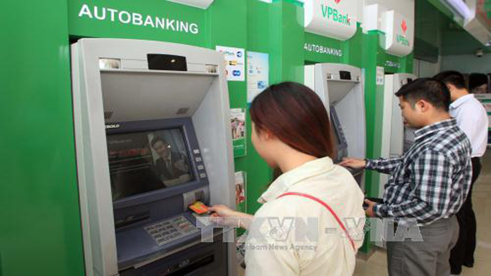 Không in, tiền lẻ mới, Tết Nguyên đán, 2018, ngân hàng, ATM