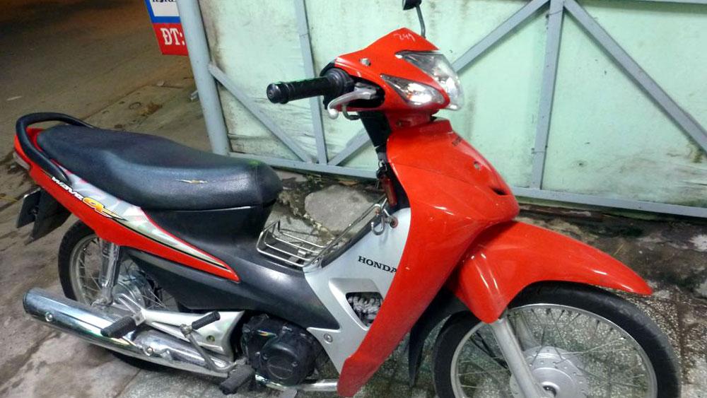 Khám phá nhanh vụ trộm cắp xe máy