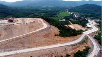 [Photo] Tăng tốc Dự án Khu du lịch tâm linh - sinh thái Tây Yên Tử