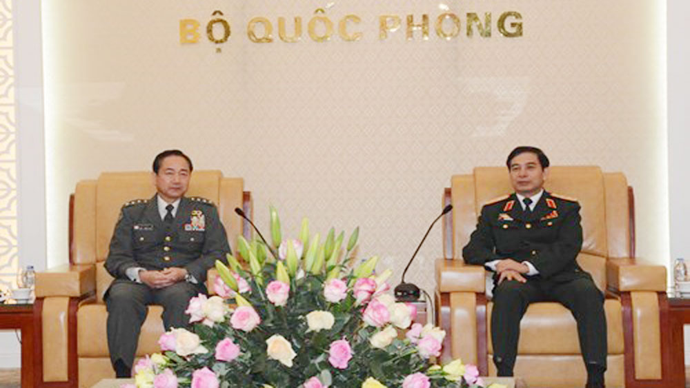 Defence cooperation contributes to Vietnam-Japan relations