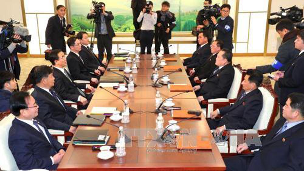 Triều Tiên, đồng ý, cử phái đoàn, tham gia, Olympic PyeongChang, 2018