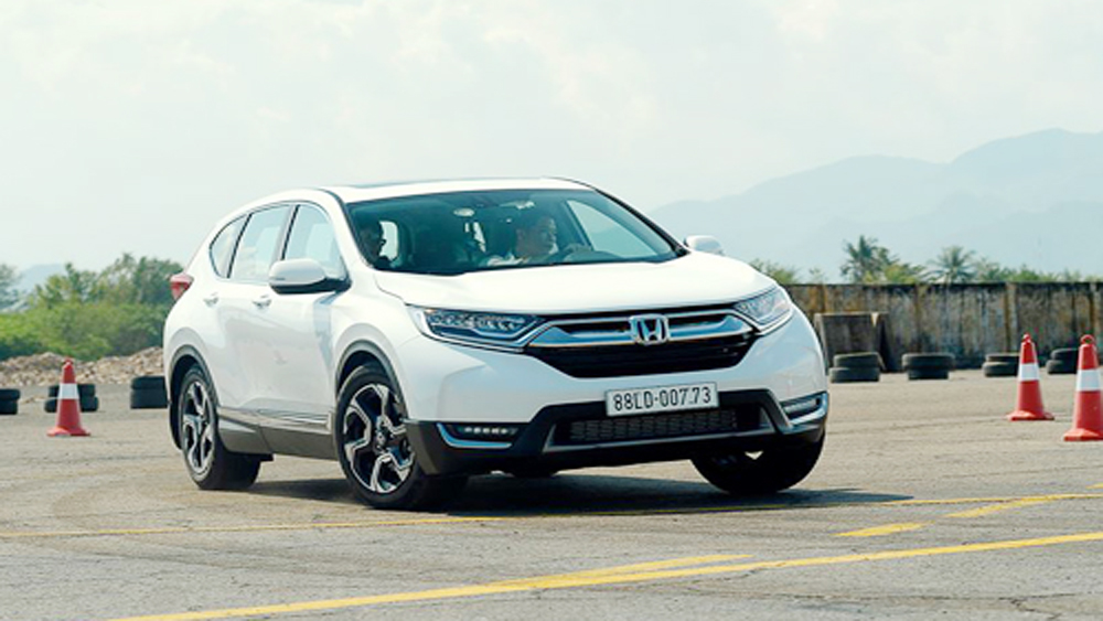 Honda CR-V 7 chỗ chốt giá cao nhất 1,256 tỷ đồng tại Việt Nam