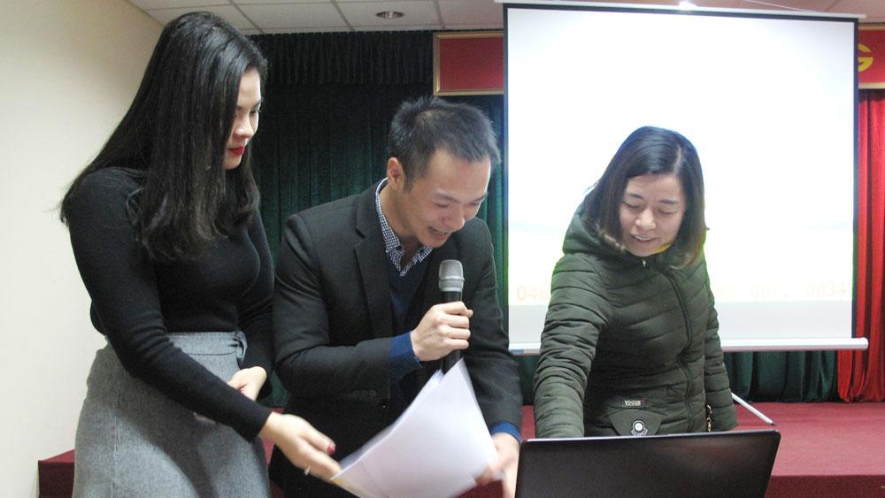 Viettel Bắc Giang: Quay số trúng thưởng kênh phân phối gói cước 4G