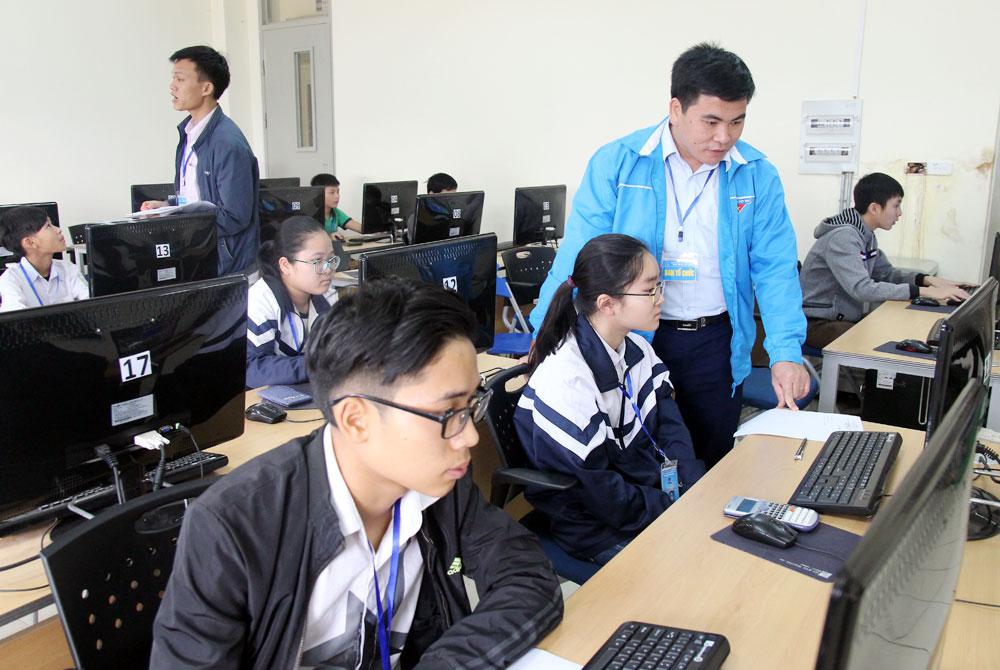 Sở Giáo dục và Đào tạo, Phát động,  hưởng ứng,  hội thi,  Tin học trẻ