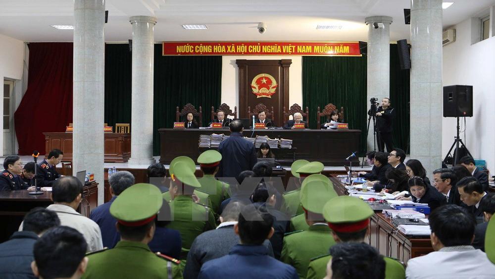 """Bị cáo Đinh La Thăng: """"Bị cáo chưa khi nào từ chối trách nhiệm"""""""