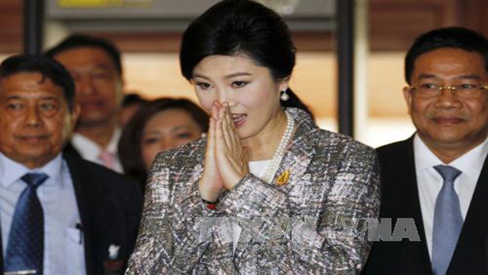 Thái Lan, xác nhận, bà Yingluck, trú ngụ, Anh