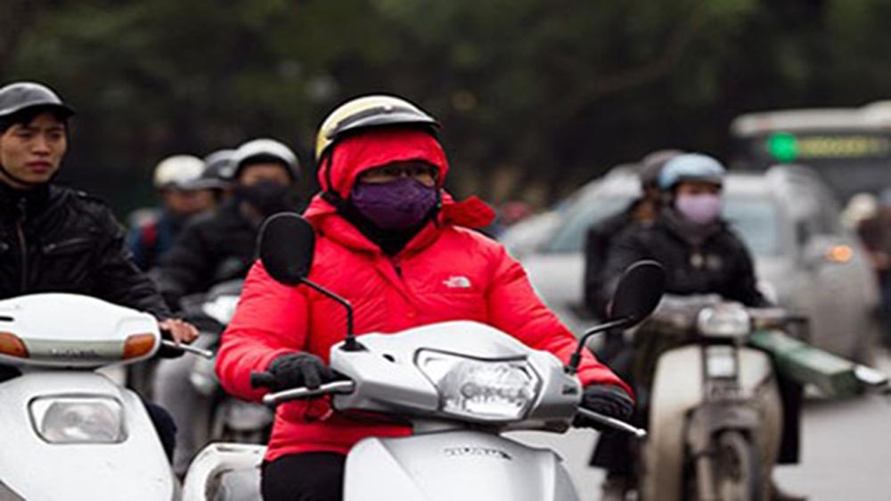 Không khí lạnh tăng cường, vùng núi cao có băng giá, Hà Nội rét đậm