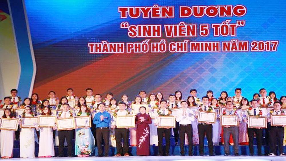 Tuyên dương, 102 'Sinh viên 5 tốt', 113 'Học sinh 3 tích cực'