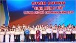 Tuyên dương 102 'Sinh viên 5 tốt' và 113 'Học sinh 3 tích cực'