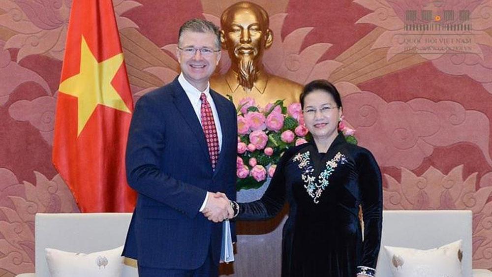 Vietnam keen to deepen comprehensive partnership with US: top legislator