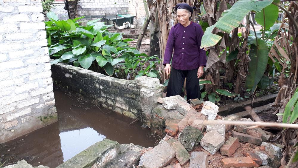 Xã Tiên Lục, Lạng Giang, hai hộ tranh chấp đất, ảnh hưởng, khu dân cư