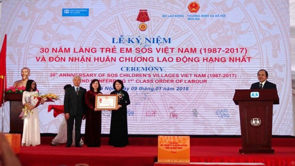 Vietnam SOS Children's Village receives Labour Order