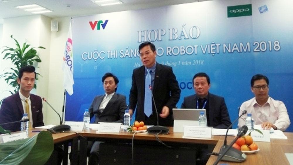 VTV launches Vietnam Robot Contest 2018