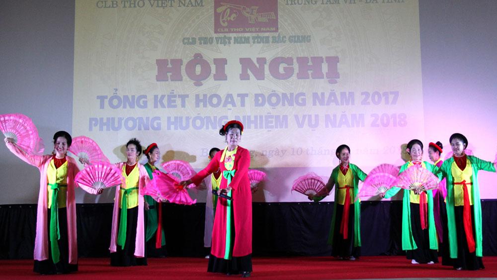 """Câu lạc bộ Thơ tỉnh Bắc Giang xuất bản tập thơ """"Tình Sông Thương số 4"""" trong năm nay"""