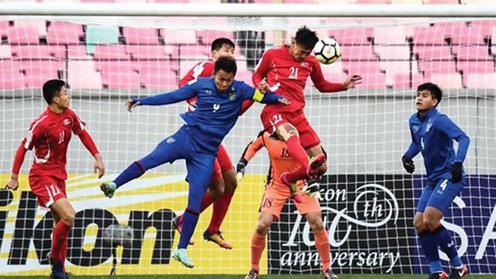 U23 Thái Lan trắng tay trong ngày ra quân tại VCK U23 châu Á 2018