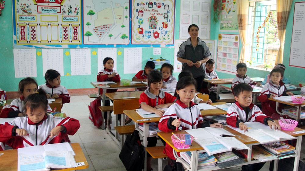 Rét đậm, học sinh một số trường miền núi, vùng cao tỉnh Bắc Giang phải nghỉ học