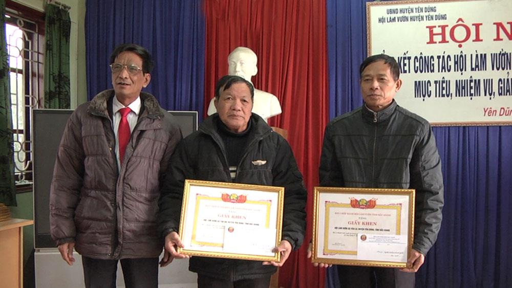 Hội làm vườn huyện Yên Dũng thu hút hơn 1.700 hội viên tham gia