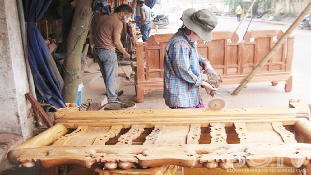 Bac Giang focuses on developing handicraft