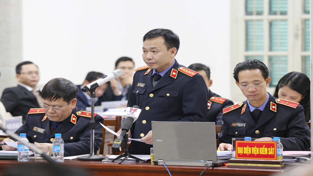 Bị cáo, Trịnh Xuân Thanh, Viện kiểm sát, đề nghị, phạt tù, chung thân