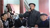 Phó Chủ tịch UBND huyện Nguyễn Văn Phương đối thoại với 40 hộ dân thôn Vân Cốc 4
