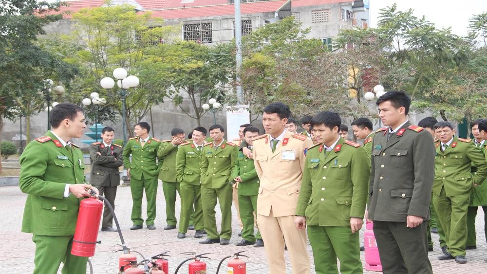 Tập huấn nghiệp vụ công tác phòng cháy chữa cháy